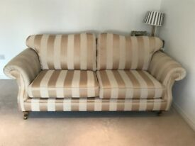 Sofa x 2 and 1 matching footstool