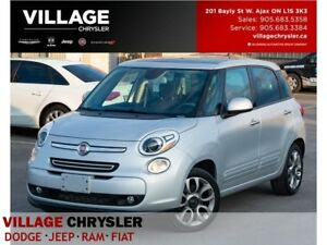 2014 Fiat 500L Sport|Pan-Sunroof|Bluetooth|Accident Free