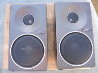 VINTAGE TECHNICS HIFI STEREO SPEAKERS