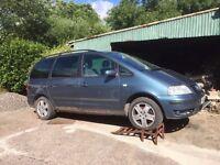 Volkswagon Sharan 2001 Spares or repair
