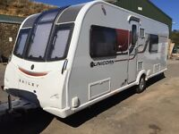 Beautiful Bailey Unicorn Valencia 2015, 4 berth touring caravan