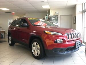2017 Jeep Cherokee SPORT**BLUETOOTH**HEATED SEATS**REMOTE START*