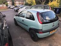 Vauxhall corsa 1.0 /3dr hatch /1yr MOT/