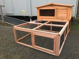 Rabbit Hutch With Run | Guinea Pig Hutch With Run