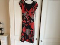 Real silk dress by Ted Baker size 12