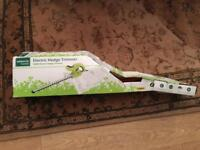 Garden line new hedge trimmer boxed electric