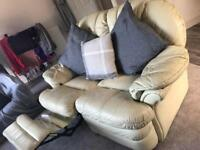 2 Seater Sofa, recliner. FREE