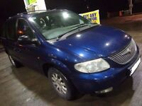 2002 7 seater chrysler voyoger 2.5 diesel with leathers+mot+DELIVERY