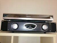 Behringer A500 Reference amp. With volume control and line input.