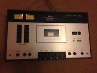 cassette deck stereo akai vintage item CS-34D repair or spare MAKE ME OFFER