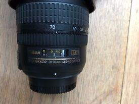 Nikon af-s 18-70mm 1 3.5-4.5g ed Camera Lens DX ED