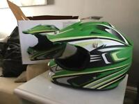 Boys large Motorcross helmet