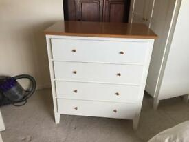MFI Albany White Bedroom Furniture Set
