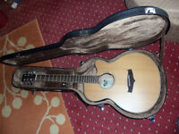 Tanglewood Evolution TSF CE N Electro-Acoustic Guitar c/w Hard travel case.