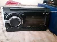 Sony stereo and amp