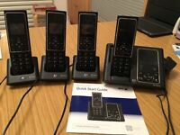BT Verve 450 Telephones with Answering Machine