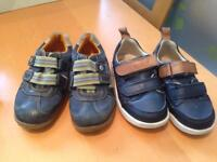 Clarks First Shoes Size 5.5G & 5.5F