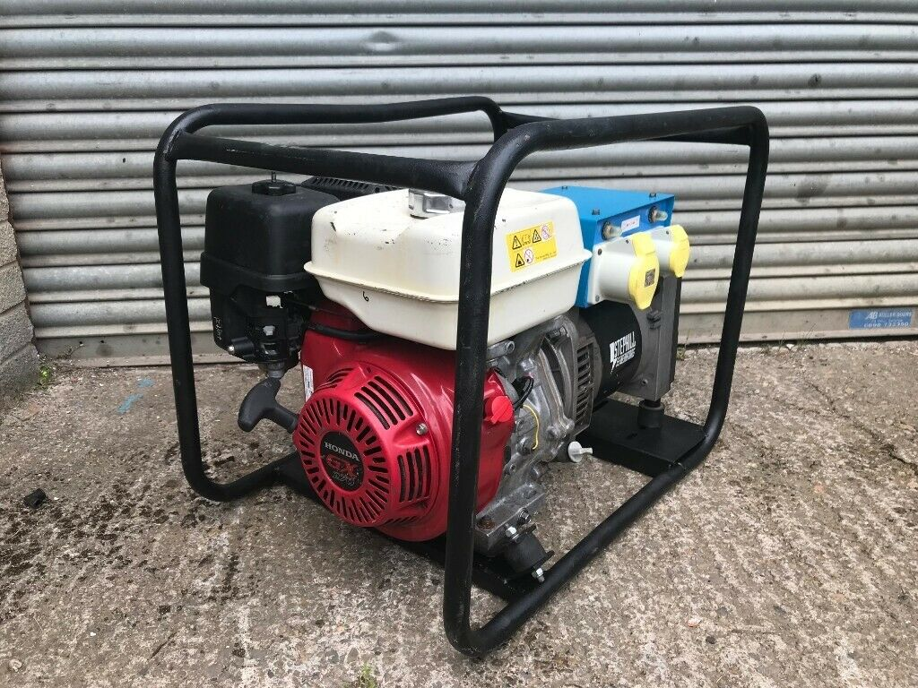 Stephill 5 Kva 4Kw Petrol Generator 110v / 240v Honda Gx270 Engine Dual  Voltage | in Cumbernauld, Glasgow | Gumtree