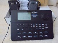 Alesis SR16 Drum machine and Foot Pedals- As New