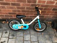 Kids Bike BTWIN 14-inch 3-4yrs