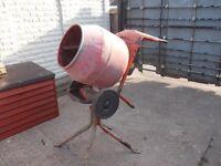 belle cement mixers 110 v