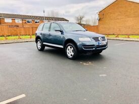 VW TOUAREG 2.5diesel automatic 6 speed full history service and 6 months warranty hpi clear