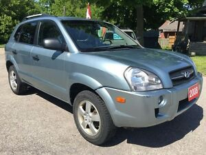 2008 Hyundai Tucson ONE OWNER-NO ACCIDENT - SAFETY & E-TESTED