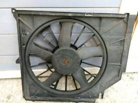 Genuine BMW E46 330i 325i 6 cylinder radiator fan