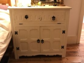 Shabby chic bedroom cabinets flip top excellent storage