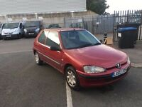 peugeot 106 2003 1.1 spares or repairs mot till jan 2017 drives well 73k miles