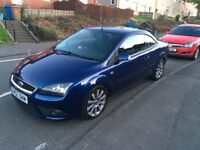 Ford Focus cc Cabriolet Convertible 2008 Tow Bar 75000 miles MOT April 2019 Must See