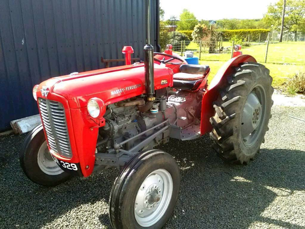 Massey Ferguson 35 Gas Tractor : Massey ferguson in bushmills county antrim gumtree