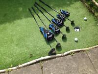 John letters swing master golf clubs