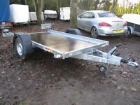 NEW / UNUSED 10-0 X 5-6 (1300KG BRAKED) TILTBED TRANSPORTER TRAILER......
