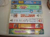 VHS Tapes, Children's