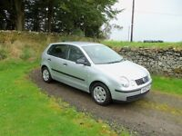 VW Polo 1.2. 47k miles, Full VW Service history ( 12 stamps) and 11 Months MOT