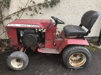 Vintage Wheelhorse C-125 8 Speed Lawn Tractor, for spares or repair