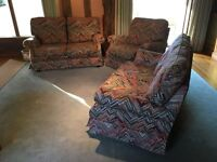 Sofa, Sofabed and Armchair