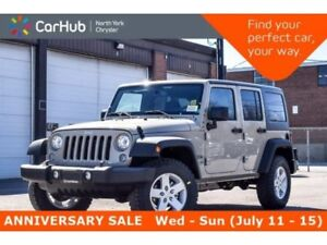 2018 Jeep Wrangler Sport New Car 4x4|Cold Wthr,LED,Connect.,Pwr