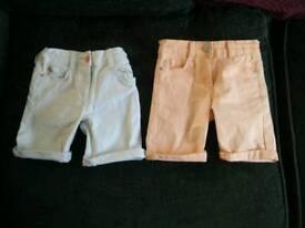 5-6 girls shorts