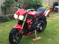 Triumph Street triple !!Only 761 miles !!