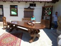 Solid Wood hand made table!