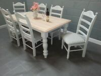 Gorgeous Dinning Table and 6 Chair Set - Nationwide Delivery Service