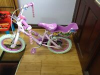 Girls Children Bicycle (4yrs upwards) for Quick Sale. Free Local Delivery!