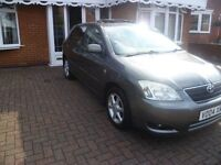 CHEAP 2004 Toyota Corolla T-Spirit 1.6 FULLY LOADED TOP SPEC Low Miles FULL SERVICE HISTORY