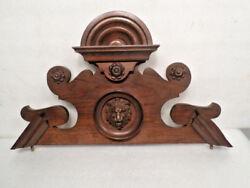 Great 18 High German 1-2-3 Weight Vienna Regulator Wall Clock Headpiece