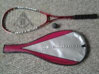 Dunlop ultramax TI squash racket