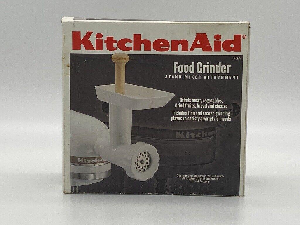Kitchenaid KSM FGA Food Grinder Attachment For Stand Mixer