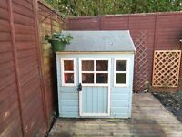 Children's Little Lodge Wooden Playhouse