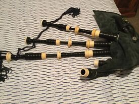 Vintage Bagpipes